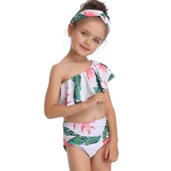 Amazon.com: Sharemen Family Matching Mom Girls Bathing Suit ...