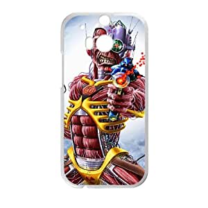 HTC One M8 Cell Phone Case White Iron Maiden 004 HIV6755169571369