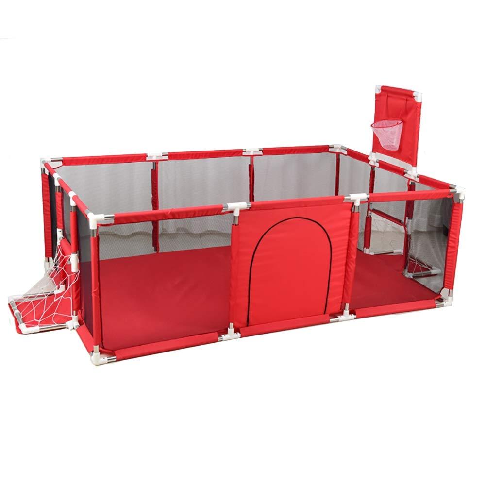 品質が完璧 -ベビーサークル 赤大幼児ベビーサークル、66センチ背の高い衝突防止強いと耐久性のあるプレイペン、赤ちゃん安全Playard B07QRX5JHY B07QRX5JHY, petite TeTe:efb997bb --- a0267596.xsph.ru