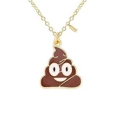 Amazon MANZHEN Poop Emoji Necklace Poo Emotion Funny Geek