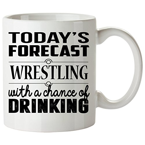 [WRESTLING Mug 11 Oz - WRESTLING Gifts - Unique Coffee Mug, Coffee Cup] (John Smith Costume Vest)