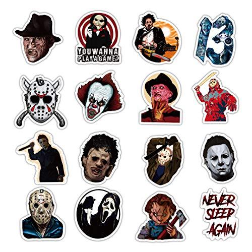 50Pcs Thriller Horror Movie Killer Role Character
