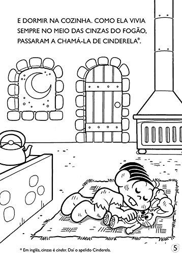 Turma Da Monica Classicos Ilustrados Para Colorir Cinderela