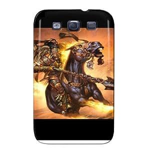 Bogardan Warrior TPU Fantasy For Sumsang Galaxy S3 Dustproof Black Protective Case