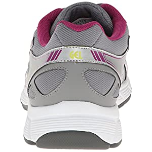ASICS Women's Gel Quick WK 2 Walking Shoe,Silver/Boysenberry/Citron,6.5 M US