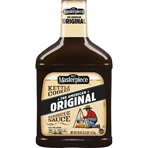 KC Masterpiece Original Barbecue Sauce, 40 Ounces,
