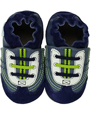 Navy Braedon Soft Sole Slip-On (Infant)