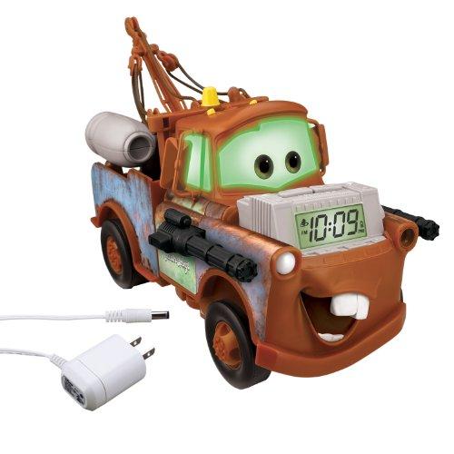 Cars Alarm Clock Light-Up Storyteller, - Toy Alarm Clock Story