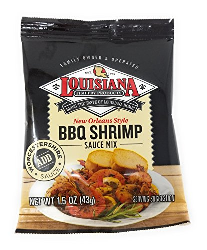 Louisiana Fish Fry New Orleans Style BBQ Shrimp Sauce Mix 1.5oz (Qty ()