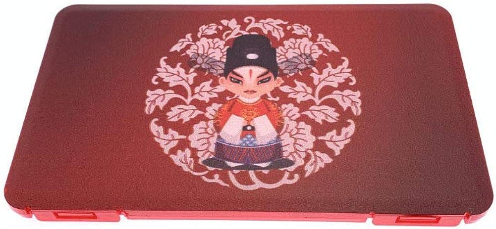 Beuya diseño de Estilo Chino Cajas para mascaras, Cajas de Almacenamiento para máscara desechable, Bolsa portátil de Almacenamiento de mascarillas