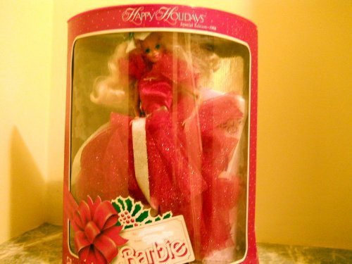 Mattel Barbie Collectibles (1988 HAPPY HOLIDAYS BARBIE - 1ST IN COLLECTIBLE SERIES by Mattel)