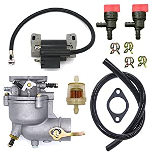 Amazon.com : NIMTEK Carburetor with Ignition Coil for