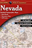 Nevada Atlas and Gazetteer, Delorme, 0899333346