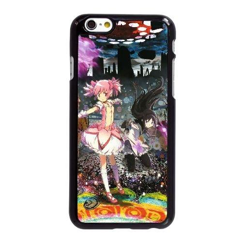Q0O78 Puella Magi Madoka Magica M4N6OB coque iPhone 6 Plus de 5,5 pouces cas de couverture de téléphone portable coque noire KO8DRP2FH