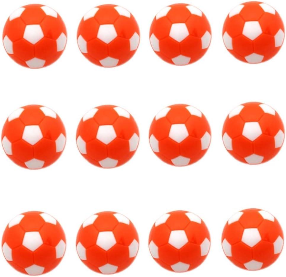 AOFOX Fútbol de Mesa Reemplazos de futbolín Mini balones de fútbol ...