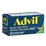 Advil Advanced Medicine for Pain Gel Caps 100 Count