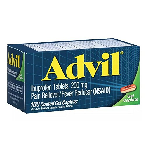 Advil Advanced Medicine for Pain Gel Caps 100 Count by Advil