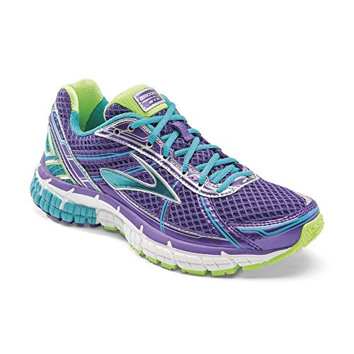 UK1 BROOKS Junior GTS 5 Purple Shoes Adrenaline 15 Running Ozr0Txwzqt