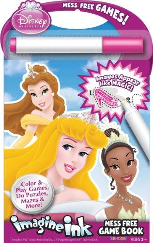Bendon Disney Princess Mess-Free Game Book