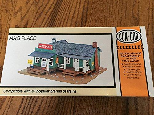 Con-Cor Ma's Place #9051 HO Scale