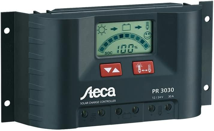 Solar Charge Controller w LCD Display