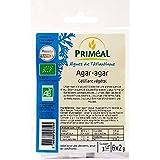 Agar Agar bio poudre origine France, gélifiant vegan naturel | 6 sachets de 2g | Priméal