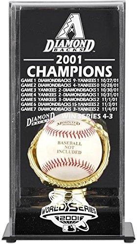 (2001 Arizona Diamondbacks World Series Champs Display Case)