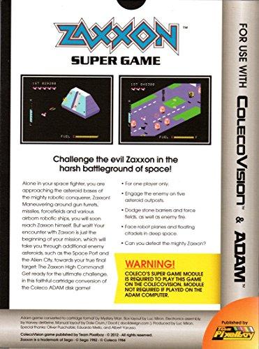 ZAXXON SUPER GAME - SGM, COLECOVISION