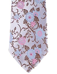 Pale Lilac Floral Tie by David Van Hagen