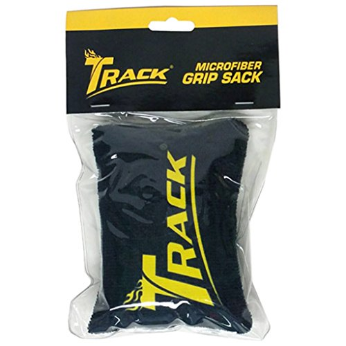 Track Microfiber Grip Sack - Black/Yellow by Track Bowling Products