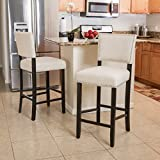 Christopher Knight Home 295975 Mayfield Industrial Indoor Barstool, Brown