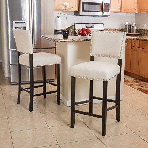 Christopher Knight Home 295975 Mayfield Industrial Indoor Barstool Brown