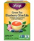 Yogi Tea Slimming Two Pack - Caramel Apple Spice Slim Life and Blueberry Slim Life 16 tea bags each box - 32 tea bags total