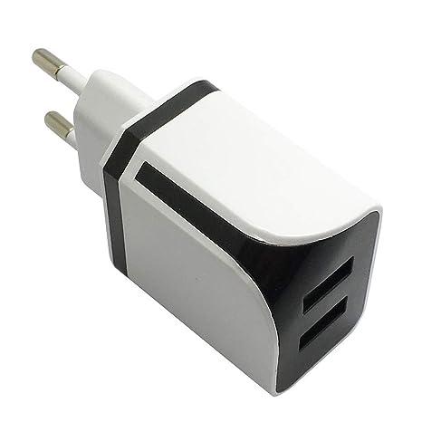 Vimoli USB Cargador de Viaje con 2 Puertos Movil Universal ...