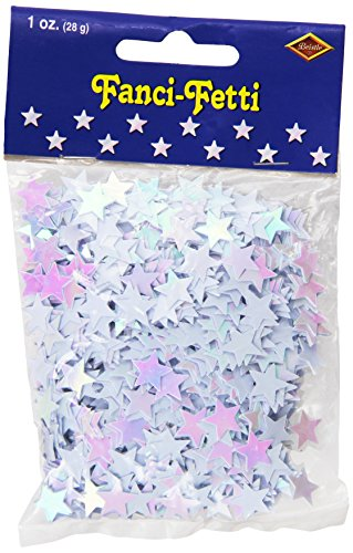 Fanci-Fetti Stars (opalescent) Party Accessory  (1 count) (1 ()