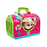 Puppy Dog Pals Keia Groom & Go Pet Carrier Toy, Pink/Green/Blue