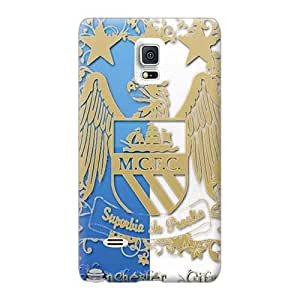 Customcases88 Samsung Galaxy Note 4 Best Hard Phone Case Provide Private Custom HD Manchester City Pictures [Zgn2785bggt]