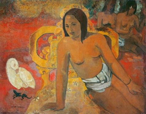 Perfect Effect Canvas ,the Imitations Art DecorativeCanvas Prints Of Oil Painting 'Paul Gauguin-Vairumati,1892', 10x13 Inch / 25x32 Cm Is Best For Hallway Artwork And Home Decoration And Gifts