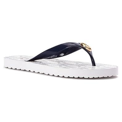 c9ee7ce5e MICHAEL Michael Kors MK Flip Flop Women US 8 Blue Flip Flop Sandal