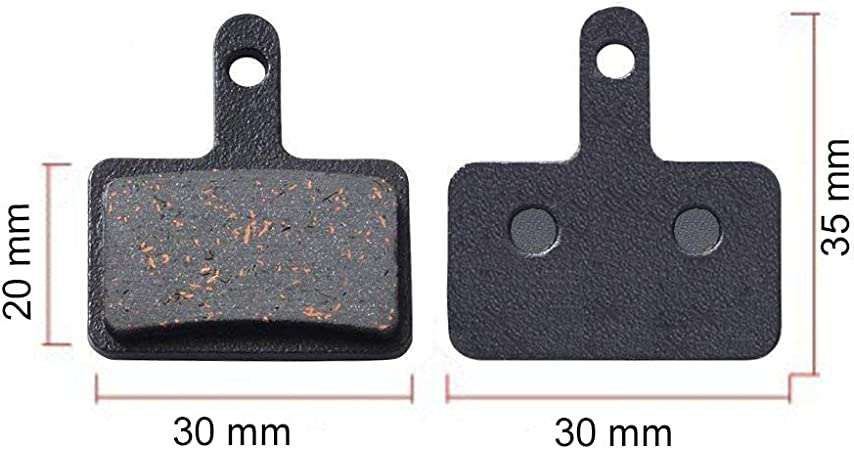 Best Tek Bike Brake Pads Disc Brake Pads for Shimano M315 M355 M515 M525 C501