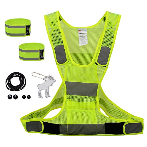 The-Friendly-Swede-Reflective-Running-Gear-including-3M-Adjustable-Reflective-Vest-Reflective-Shoelaces-and-Reflective-Arm-and-Ankle-Bands