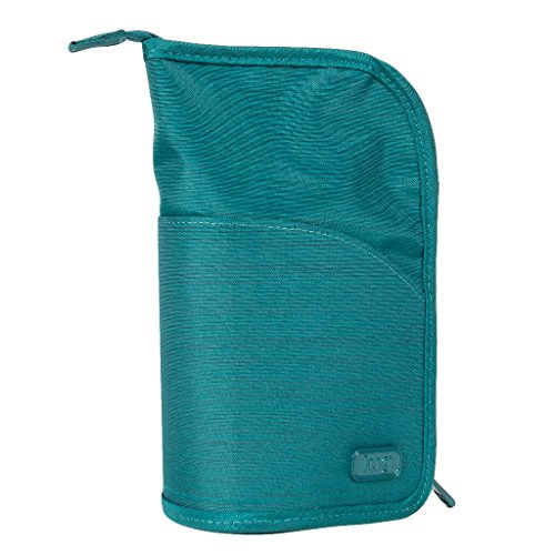 Lug Women's Canoe Cosmetic Case, Brushed Teal ()