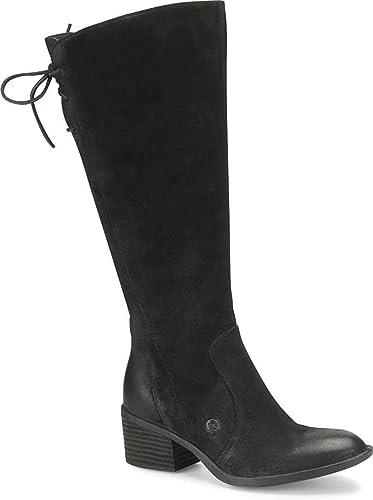 BORN Womens Felicia Leather Almond Toe