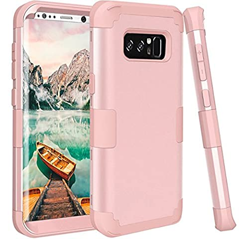 AOKER Galaxy Note 8 Case, [Perfect] Shockproof Hybrid Heavy Duty High Impact Hard Plastic +Soft Silicon Rubber Armor Defender Case Cover for Samsung Galaxy Note 8 2017 Release - Series Note