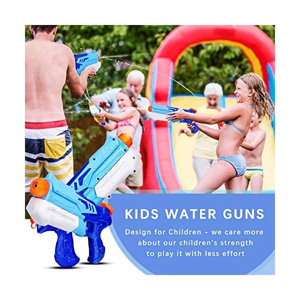 Ucradle 2 Pistole ad Acqua Bambini, Squirt Gun per Bambini e Adulti Estivi All'aperto per Divertimento, 300ML Summer… 2 spesavip