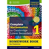 Complete Mathematics for Cambridge Lower Secondary 1 Homework Book 1