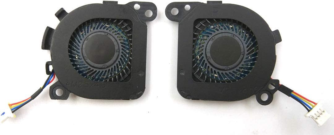 laptoppartshub LPH New Replacement CPU /& GPU Fan for HP Envy 13-D 13-D010NR 13-D040NR 13-D040WM 13-D099NR