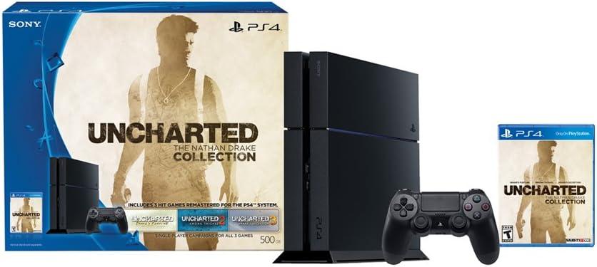 Sony PlayStation 4 500 GB Consola - Uncharted: El Nathan Drake ...