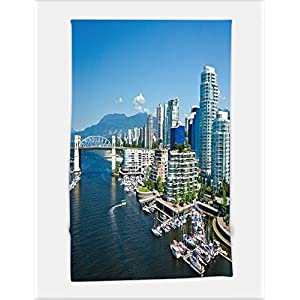 Minicoso Bath Towel beautiful view of vancouver british columbia canada 212016496 For Spa Beach Pool Bath