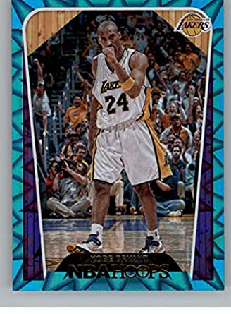 12f0d082771 2018-19 NBA Hoops Teal Explosion  296 Kobe Bryant Tribute Los Angeles Lakers  Official